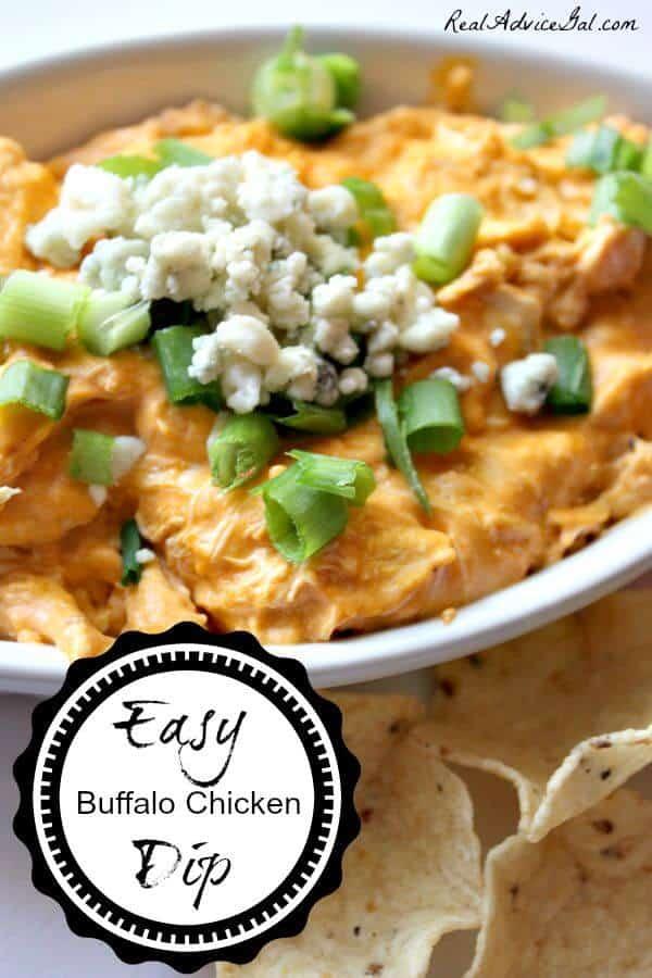easy buffalo chicken dip recipe