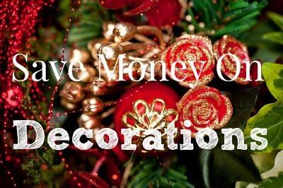 save money on decorations