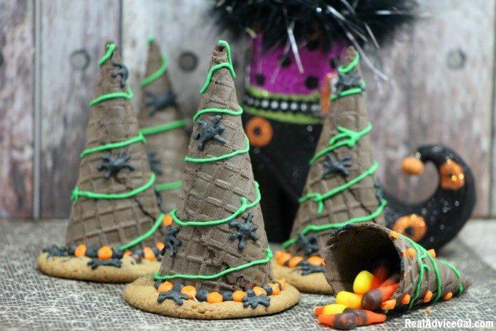 Halloween Witch Hats Cookies Recipe