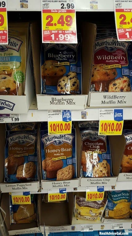 Martha White Baking Mixes
