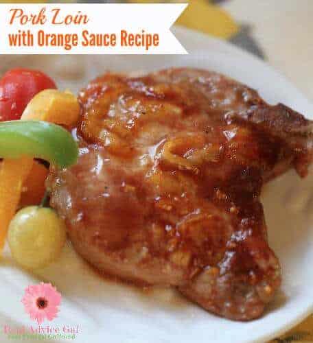 Pork Loin With Orange Sauce Recipe