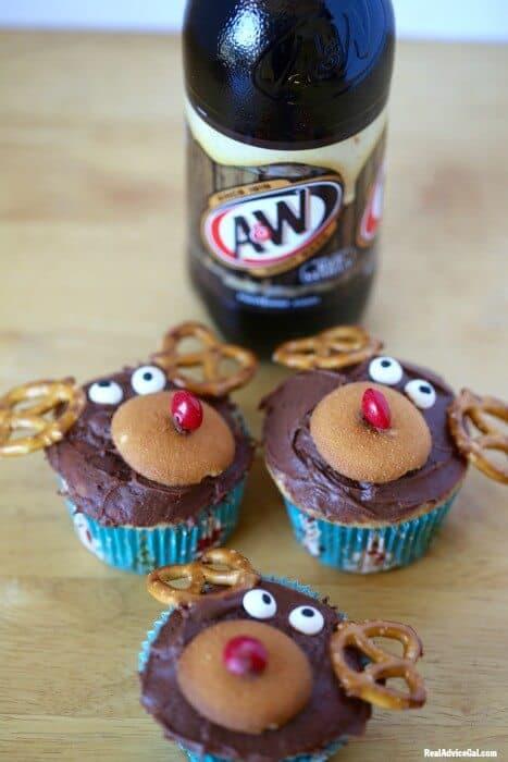Easy Reindeer Cupcakes Recipe