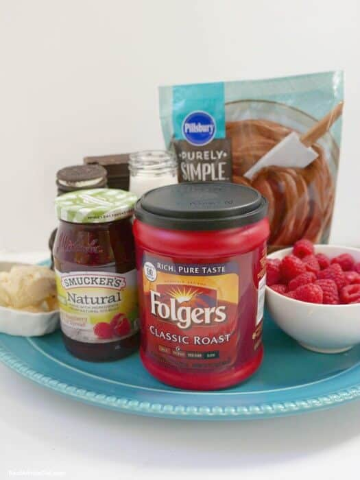 Recipe for Chocolate Ganache Cake with Folgers