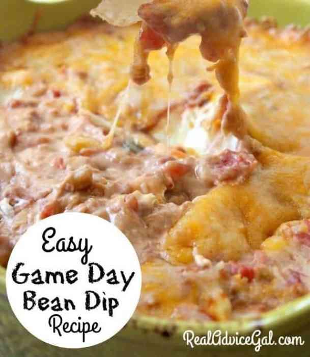 Easy Bean Dip Recipe