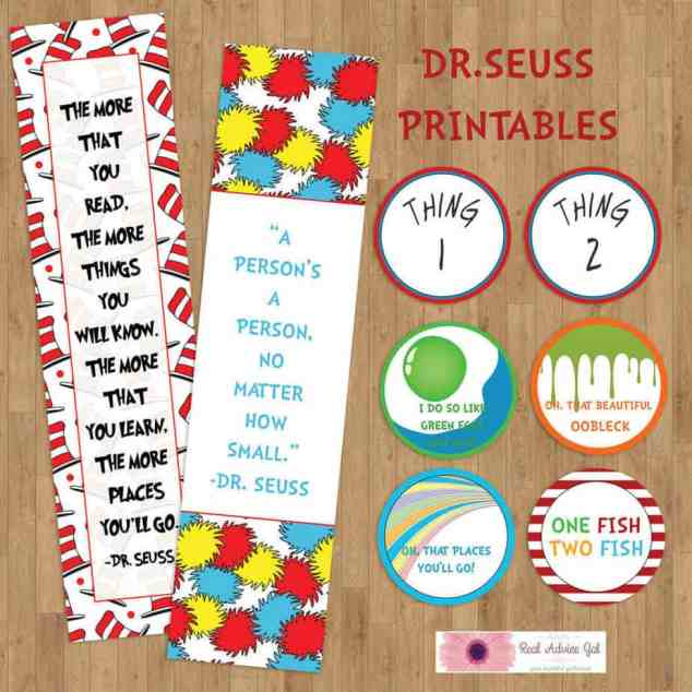 Printable Dr Seuss for Kids