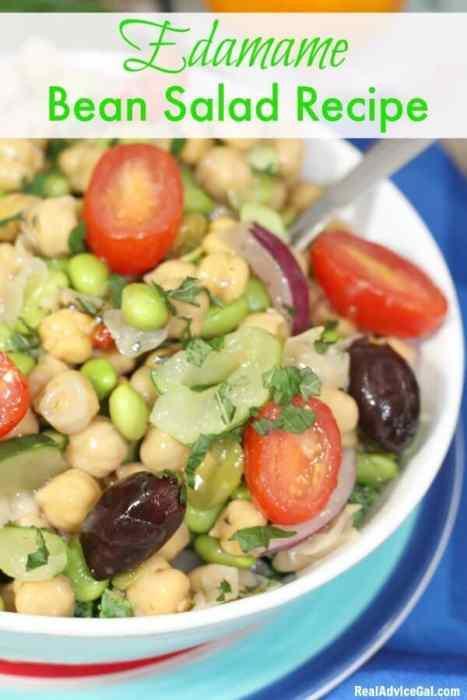 Easy Edamame Bean Salad Recipe