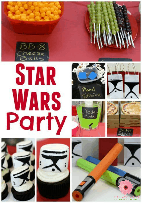 Star Wars Birthday Parties are so much fun and easy to put together. We have all the ideas you need to make you party a success