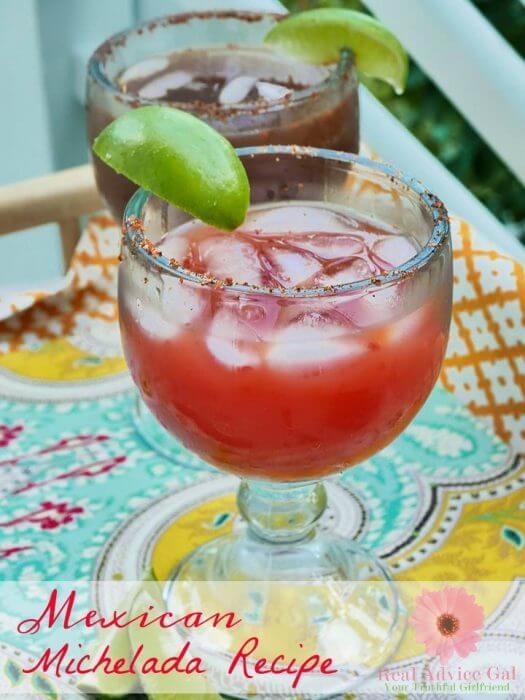 Best Mexican Michelada Recipe
