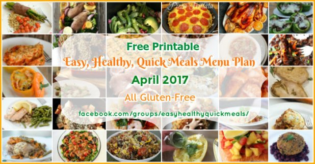 Healthy and easy dinner menu