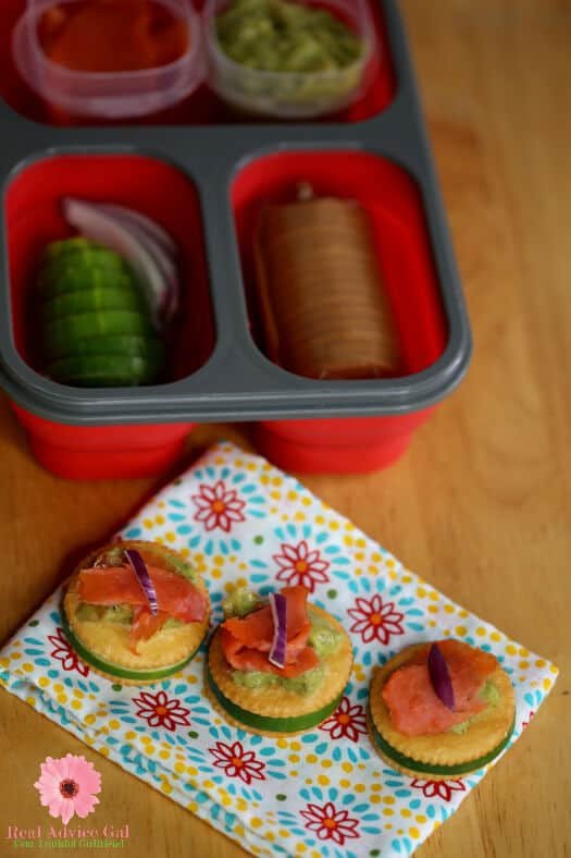 Ritz cracker toppings