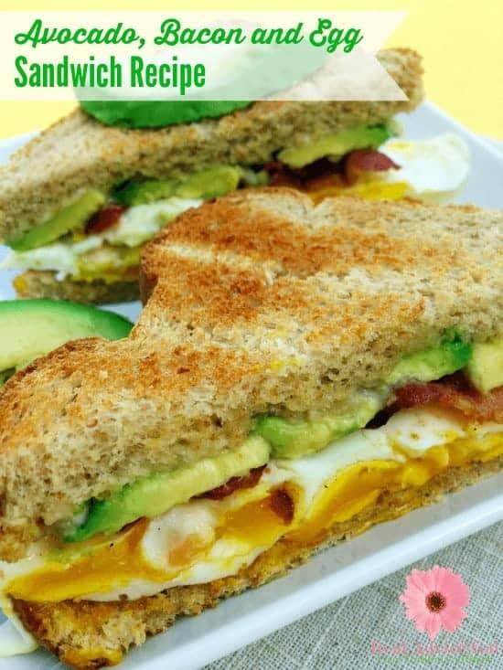 Add some twist to your breakfast sandwich and turn it into power breakfast. Learn how to make an avocado sandwich