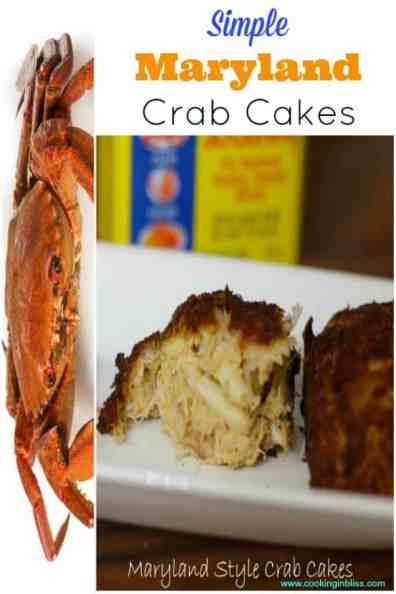 Maryland Style Crab Cakes Recipe