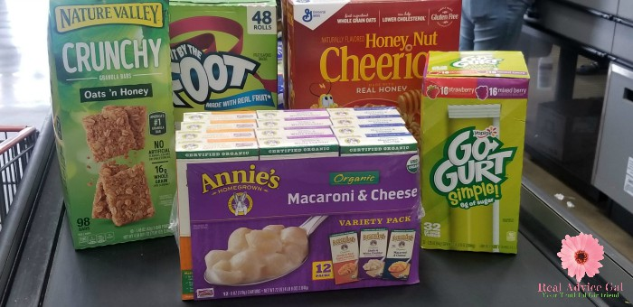 Buy General Mills Products at Costco and clip Box Tops to support your school.