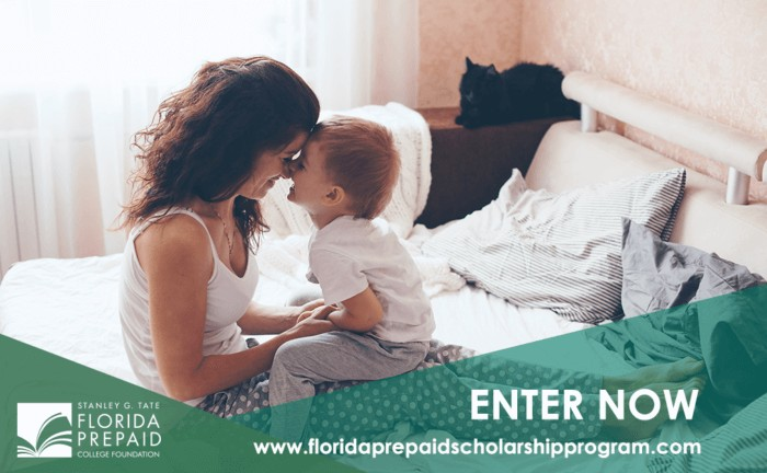 Ten Florida families will win two free years of college from the Florida Prepaid College Foundation. #StartingIsBelieving