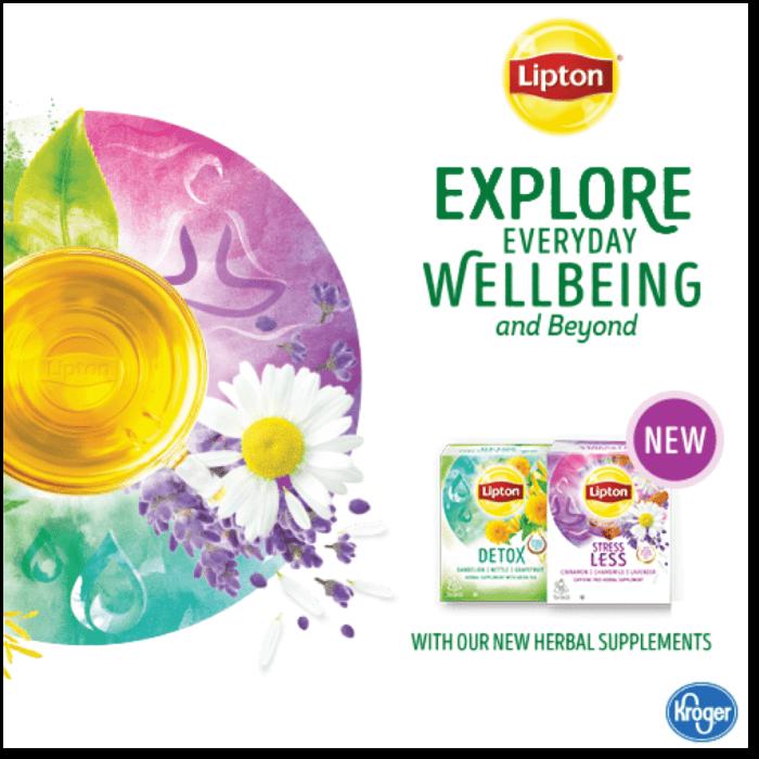 Lipton Herbal Tea at Kroger