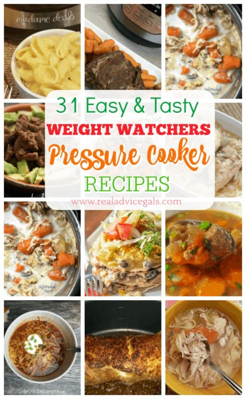 Eat without guilt with these 31 Pressure Cooker Weight Watchers Recipes