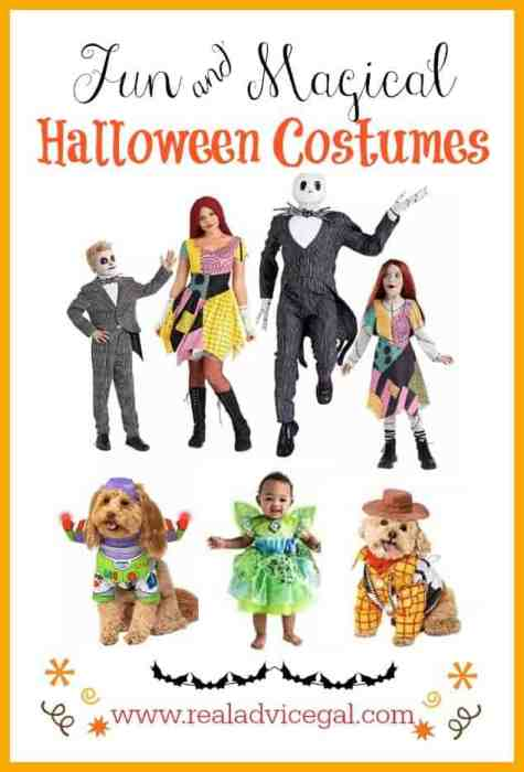 Fun and magical costumes for the whole family