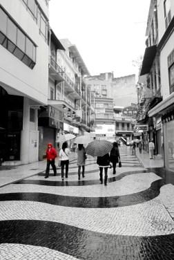 A rainy morning in Macau