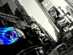 Billboard blues, New York