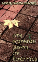 A solitary, yellowing leaf...meditating on a balmy autumn evening in Sydney...translates into a cover for Marquez's immortal work. Buy One Hundred Years of Solitude here