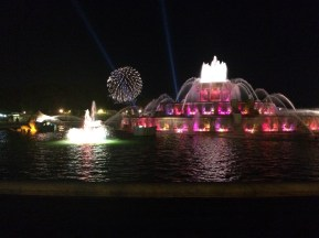 The Buckingham Fountain in Chicago.