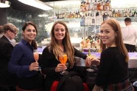 (left to right) Lauren Calandriello of JRT Realty, Monica Resta, and CBRE's Caroline Merck.