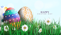 Wishing you all a happy Easter weekend