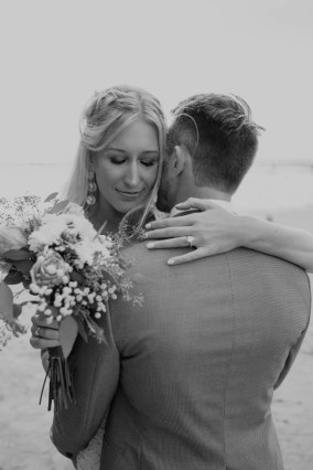 Darcie and Logan San Diego beach wedding photos