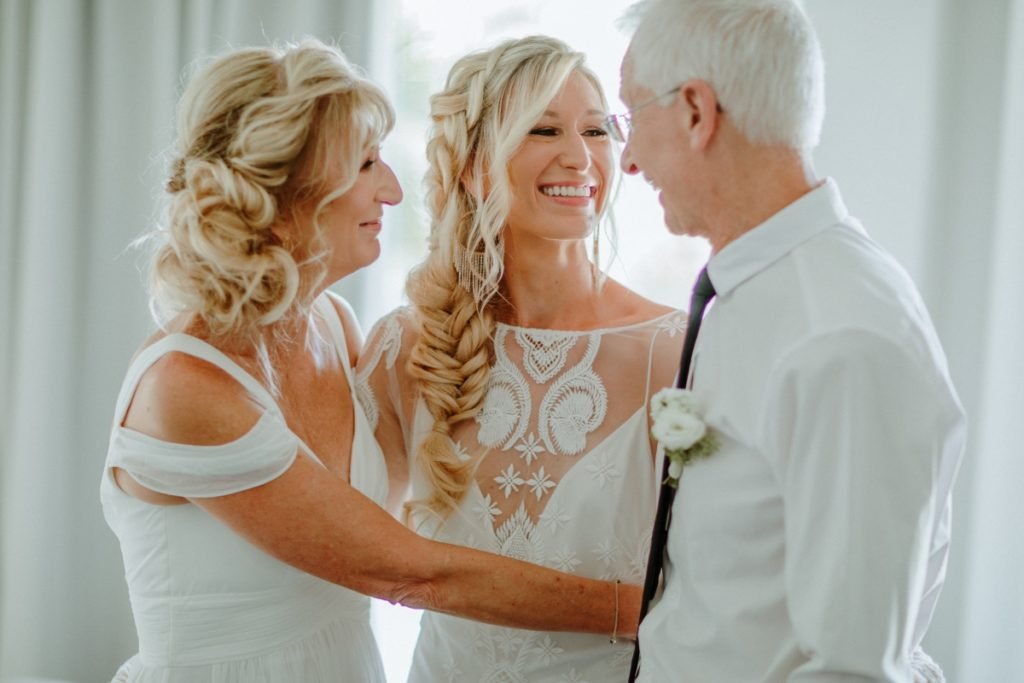 Parents and Bride | The Realationship Project