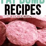 The 50 Best Fat Bomb Recipes
