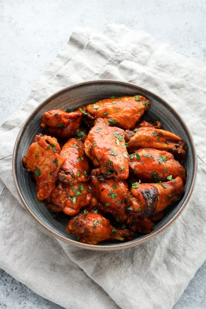 Low Carb Sweet & Spicy Barbecue Chicken Wings