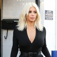 PHOTOS: Kim Kardashian Flashes Her G -String In Tight, See Through Pants