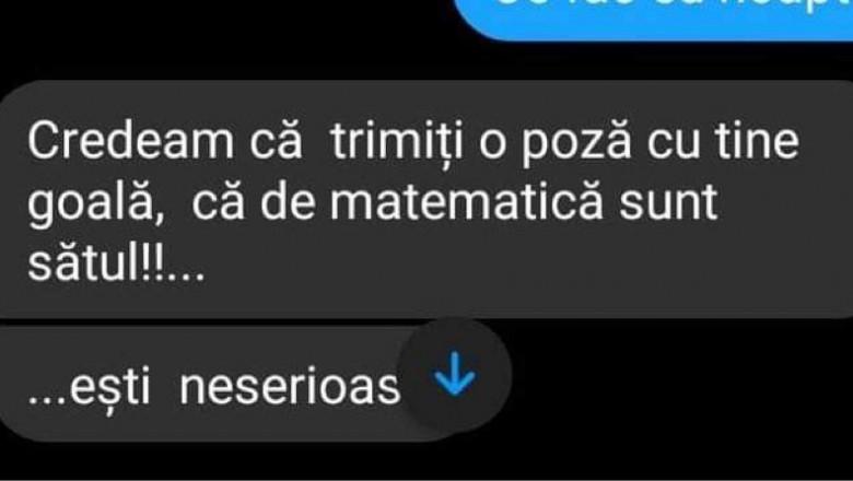 """(FOTO) Caz șocant în România! Un profesor cere fotografii nud de la eleve. """"Credeam că trimiți o poză cu tine goală, că de matematică sunt sătul"""""""