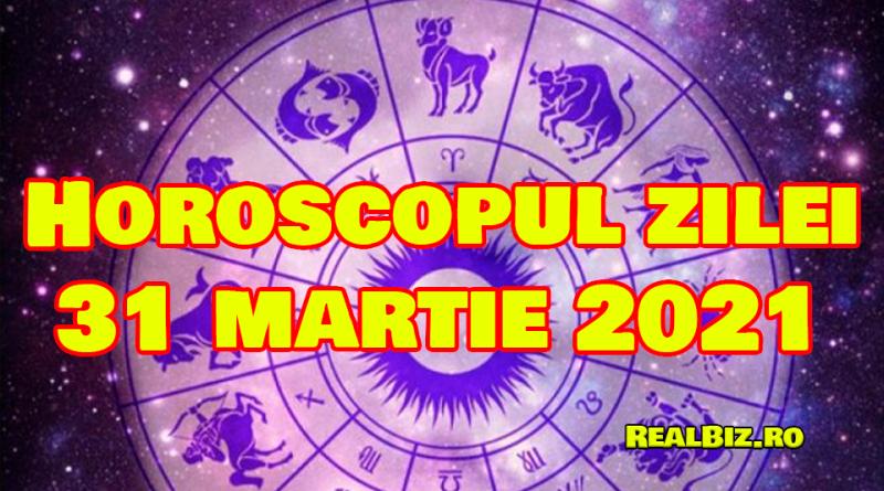 Horoscop 31 martie 2021. Previziuni complete. Racii vor fi puțin stresați, în timp ce leii și fecioarele vor avea mai mult timp pentru a reflecta