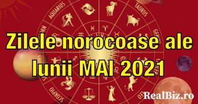 Zilele norocoase ale lunii mai 2021, conform zodiei tale. Care sunt zilele în care fiecare nativ are mai mult noroc la bani, dragoste sau carieră?
