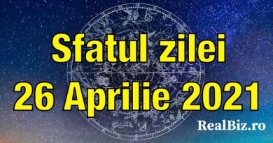 Sfatul zilei 26 aprilie 2021. Leii și Racii pot începe să întreprindă acțiuni concrete, iar Fecioarele trebuie să renunțe la…