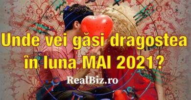 Unde vei găsi dragostea în luna mai 2021? Astrologii ne spun locul concret unde vom găsi ce căutam de mult timp