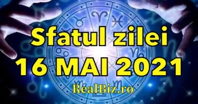 Sfatul zilei 16 mai 2021. Previziuni complete. Berbecii trebuie să se oprească la timp, iar Taurii și Gemenii nu mai trebuie să…