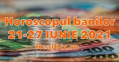 Horoscopul banilor 21-27 iunie 2021. Previziuni complete. Berbecii și Taurii au parte de o săptămână de glorie la capitolul financiar, iar Gemenii pot afla care este ziua norocoasă în această perioadă