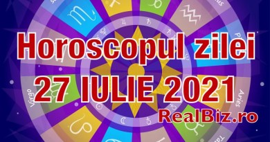Horoscop 27 iulie 2021. Previziuni complete. Berbecii și Taurii se simt în formă, iar Gemenii trebuie să fie mai atenți în această zi