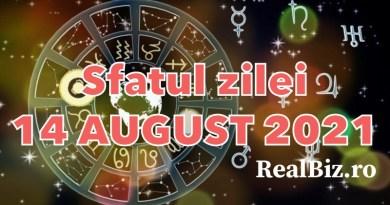 Sfatul zilei 14 august 2021. Peștii și Berbecii trebuie să acorde mai mult timp odihnei, iar Taurii să reducă din…
