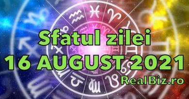 Sfatul zilei 16 august 2021. Leii și Racii nu trebuie să se grăbească, iar Fecioarele trebuie să își păstreze…