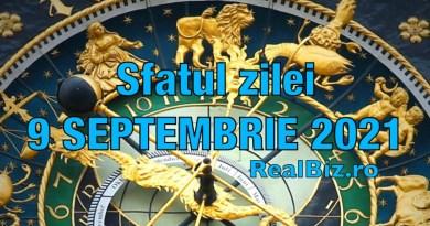 Sfatul zilei 9 septembrie 2021. Leilor și Racilor nu trebuie să le fie frică de necunoscut, iar Fecioarele nu trebuie să se rușineze când este vorba de…