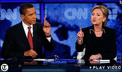 HILLARY v. Obama