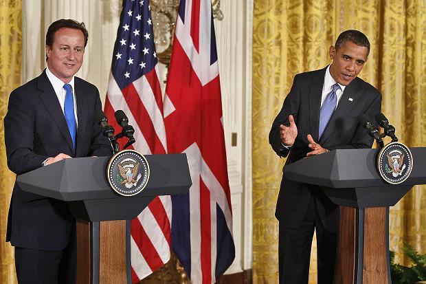 obama in UK