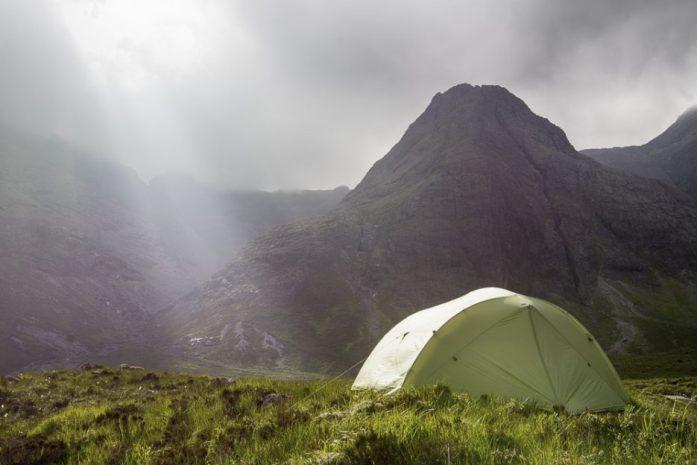Isle Of Skye Trail kempování