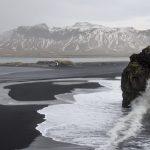 Island Reynisfjara pláž