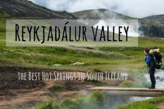 Reykjadalur Valley - the best hot springs in south iceland