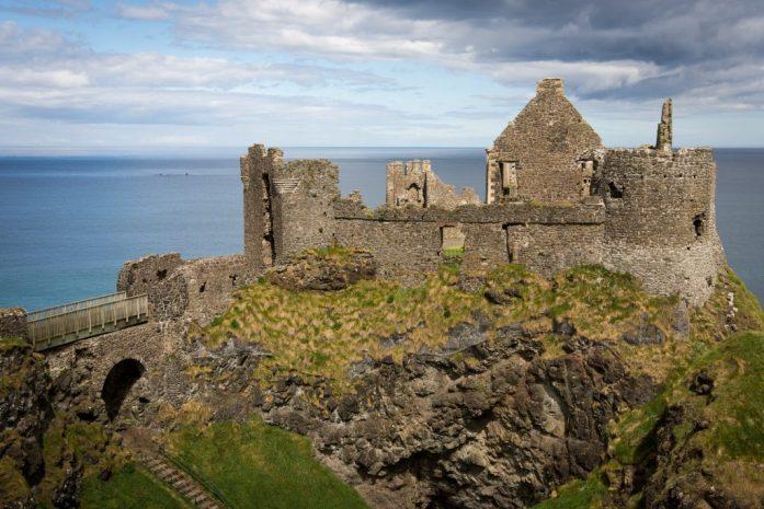 Severní Irsko - Dunluce Castle