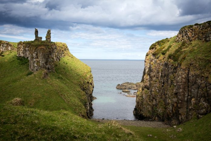 Severní Irsko - Dunservick Castle